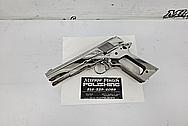 Stainless Steel Gun Semi - Auto Gun Parts AFTER Chrome-Like Metal Polishing - Stainless Steel Polishing Services - Gun Polishing