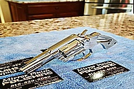 Stainless Steel Colt King Cobra Gun / Revolver AFTER Chrome-Like Metal Polishing and Buffing Services / Restoration Services - Stainless Steel Polishing