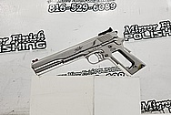 Sig Sauer P365 Stainless Steel Gun Slide AFTER Chrome-Like Metal Polishing and Buffing Services / Restoration Services - Stainless Steel Polishing