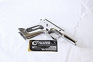 Stainless Steel Colt Gold Cup Trophy Gun AFTER Chrome-Like Metal Polishing and Buffing Services / Restoration Services