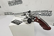 S&W - Smith & Wesson .44 Magnum Revolver AFTER Chrome-Like Metal Polishing and Buffing Services / Restoration Services