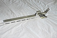 Aluminum Rifle Stock AFTER Chrome-Like Metal Polishing and Buffing Services / Restoration Services