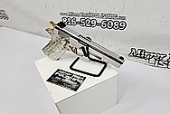Colt 1911 .45 Caliber Semi - Auto Stainless Steel Gun / Pistol AFTER Chrome-Like Metal Polishing and Buffing Services - Stainless Steel Polishing Services - Gun Polishing Services Plus Custom Gold Look Coating Services