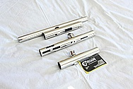 Stainless Steel Paintball Gun Parts AFTER Chrome-Like Metal Polishing and Buffing Services / Restoration Services