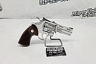 Colt Python .357 Magnum Stainless Steel Gun Parts AFTER Chrome-Like Metal Polishing and Buffing Services - Stainless Steel Polishing - Gun Polishing