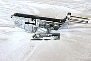 Walther AR-15 Steel Upper Receiver AFTER Chrome-Like Metal Polishing and Buffing Services / Restoration Services