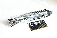 Walther AR-15 Steel Gun Piece AFTER Chrome-Like Metal Polishing and Buffing Services / Restoration Services