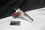 Sig Sauer C3 Grip Laser 1911 .45 Auto Stainless Steel / Aluminum Frame Gun Parts AFTER Chrome-Like Metal Polishing and Buffing Services / Restoration Services