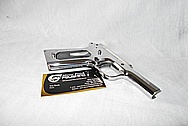 Colt Gold Cup Trophy Semi - Auto Gun AFTER Chrome-Like Metal Polishing and Buffing Services / Restoration Services