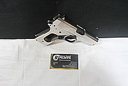 Colt MKIV Gun Frame and Slide AFTER Chrome-Like Metal Polishing and Buffing Services / Resoration Services