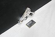 Colt MKIV Gun Frame and Slide AFTER Chrome-Like Metal Polishing and Buffing Services / Resoration Services