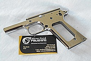 Steel Semi-Automatic Gun Frame AFTER Chrome-Like Metal Polishing and Buffing Services / Resoration Services