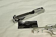 Taurus PT99 Steel Handgun AFTER Chrome-Like Metal Polishing and Buffing Services