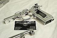 METAL POLISHING - TAURUS PT99 SLIDER, TRIGGER, ETC - CHROME POLISHING