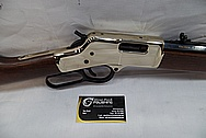 Brass Gun / Rifle Parts AFTER Chrome-Like Metal Polishing and Buffing Services / Restoration Service
