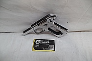 Colts Government Model 1911 .45 Caliber Automatic Gun / Pistol AFTER Chrome-Like Metal Polishing and Buffing Services / Restoration Service