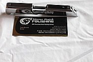Ruger LCP Stainless Steel Slide AFTER Chrome-Like Metal Polishing and Buffing Services