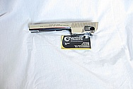 Desert Eagle Stainless Steel Semi Automatic Gun Piece AFTER Chrome-Like Metal Polishing and Buffing Services