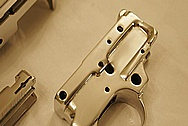 Ruger Steel 10-22 Rifle Piece AFTER Chrome-Like Metal Polishing and Buffing Services