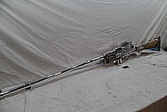 World War II Browning Automatic Training Rifle (BAR) Gun Parts / Barrle AFTER Chrome-Like Metal Polishing and Buffing Services / Restoration Service