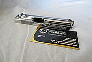 Stainless Steel Gun Slide AFTER Chrome-Like Metal Polishing and Buffing Services / Restoration Service