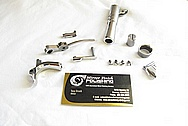 Stainless Steel Semi Automatic Gun Barrel, and Other Pieces AFTER Chrome-Like Metal Polishing and Buffing Services