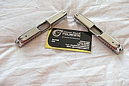 Stainless Steel Semi Automatic Gun Slide AFTER Chrome-Like Metal Polishing and Buffing Services
