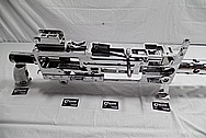 World War II Machine Gun Parts / Barrel AFTER Chrome-Like Metal Polishing and Buffing Services / Restoration Service