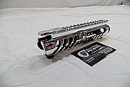 Aluminum AR-15 Gun Upper Reciver AFTER Chrome-Like Metal Polishing and Buffing Services / Restoration Service