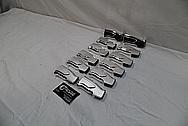 Cobalt Kinetics AR-15 Aluminum Handgrip AFTER Chrome-Like Metal Polishing and Buffing Services