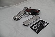 Kimber CDP II Custom Shop Aluminum Frame 1911 Gun AFTER Chrome-Like Metal Polishing and Buffing Services / Restoration Services