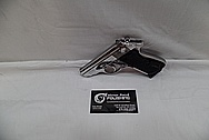 Carl Walther Modell PPK/S 9mm Kirz/.380ACP Interarms Stainless Steel Semi-Automatic Gun / Pistol AFTER Chrome-Like Metal Polishing and Buffing Services / Restoration Services