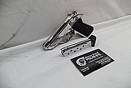 Carl Walther Modell PPK/S 9mm Kirz/.380ACP Interarms Stainless Steel Semi-Automatic Gun / Pistol and Magazine AFTER Chrome-Like Metal Polishing and Buffing Services / Restoration Services