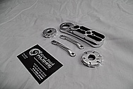 Aluminum Gun Parts AFTER Chrome-Like Metal Polishing and Buffing Services / Restoration Services