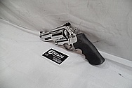 S&W / Smith & Wesson Model 500 Stainless Steel Revolver / Gun AFTER Chrome-Like Metal Polishing and Buffing Services / Restoration Services