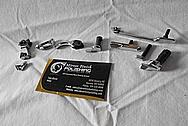 Beretta Stainless Steel Gun Parts AFTER Chrome-Like Metal Polishing - Stainless Steel Polishing