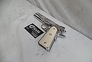 S&W Springfield 1911 Stainless Steel Gun / Pistol AFTER Chrome-Like Metal Polishing - Stainless Steel Polishing