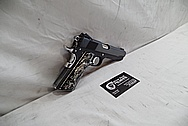 Colt Government Model .45 Auto 1911 Stainless Steel Gun / Pistol AFTER Chrome-Like Metal Polishing - Stainless Steel Polishing