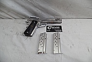 Springfield Armory 1911 9MM Stainless Steel Gun / Pistol AFTER Chrome-Like Metal Polishing - Stainless Steel Polishing