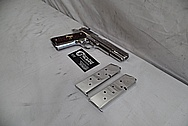 Colt Engraved .45 Auto 1911 Frame Stainless Steel Gun / Pistol AFTER Chrome-Like Metal Polishing - Stainless Steel Polishing