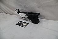 AR-15 Lower Gun Frame AFTER Chrome-Like Metal Polishing - Stainless Steel Polishing