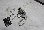 Stainless Steel Smith & Wesson S&W Model 66 Revolver Handgun BEFORE Chrome-Like Metal Polishing and Buffing Services / Restoration Services