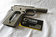Colt Gold Cup Trophy Semi - Auto Gun BEFORE Chrome-Like Metal Polishing and Buffing Services / Restoration Services