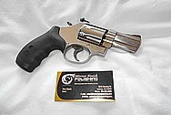 S&W Steel .357 Magnum Revolver Gun BEFORE Chrome-Like Metal Polishing and Buffing Services / Resoration Services