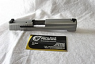 Sig Sauer P226 Steel Gun Slide and Barrel BEFORE Chrome-Like Metal Polishing and Buffing Services / Resoration Services