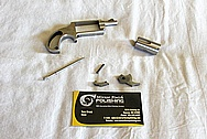 Freedom Arms Stainless Steel .22 Magnum Mini Gun BEFORE Chrome-Like Metal Polishing and Buffing Services / Restoration Services