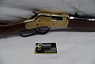 Brass Gun / Rifle Parts BEFORE Chrome-Like Metal Polishing and Buffing Services / Restoration Service