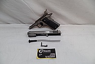 Colts Government Model 1911 .45 Caliber Automatic Gun / Pistol BEFORE Chrome-Like Metal Polishing and Buffing Services / Restoration Service