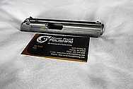 Stainless Steel Gun Slide BEFORE Chrome-Like Metal Polishing and Buffing Services / Restoration Service