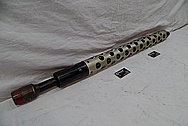 World War II Machine Gun Parts / Barrel BEFORE Chrome-Like Metal Polishing and Buffing Services / Restoration Service